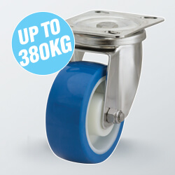 Stainless Steel Excel Plate Castors