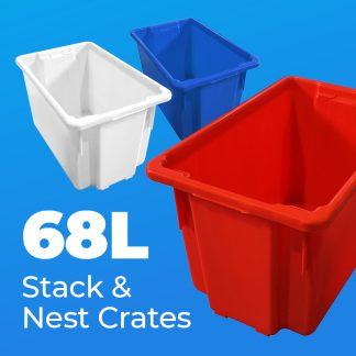 68L Stack & Nest Crates